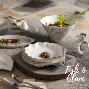 TAO Singapore: Minh Long I - Fish & Clam Tableware Collection