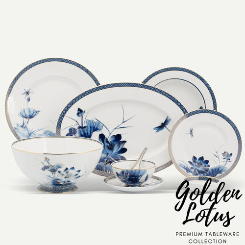 TAO Singapore: Minh Long I - Golden Lotus Tableware Collection
