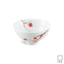 Load image into Gallery viewer, Pink Ochna Rice Bowl 11.5cm