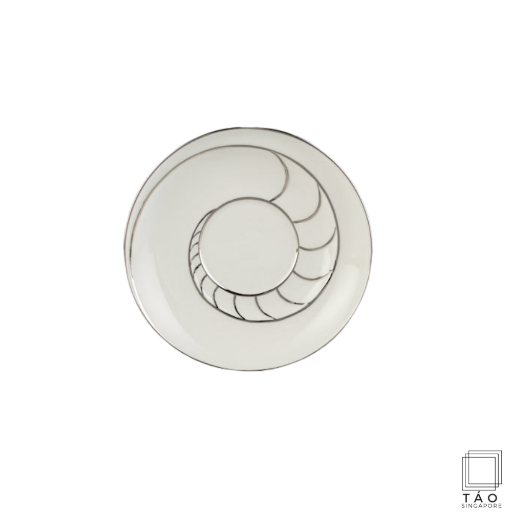 Fish & Clam: Rice Bowl Saucer 16cm