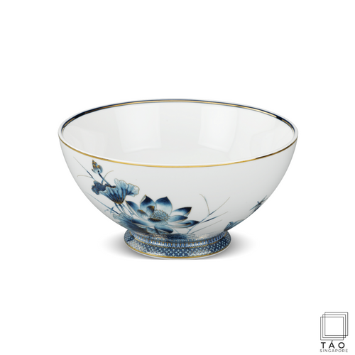 Golden Lotus: Soup Bowl (23cm) (4802818736228)