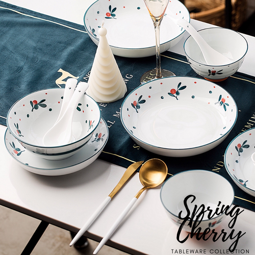 TAO Singapore: TAO Choice - Spring Cherry Tableware Collection