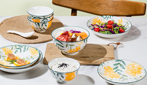 TAO Singapore: TAO Choice - Sunflower Tableware Collection