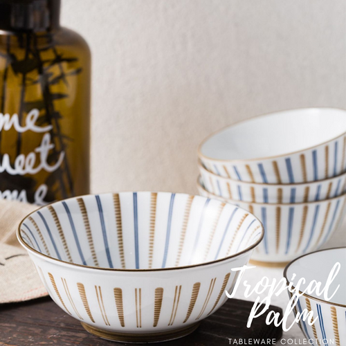 TAO Singapore: TAO Choice - Tropical Palm Tableware Collection