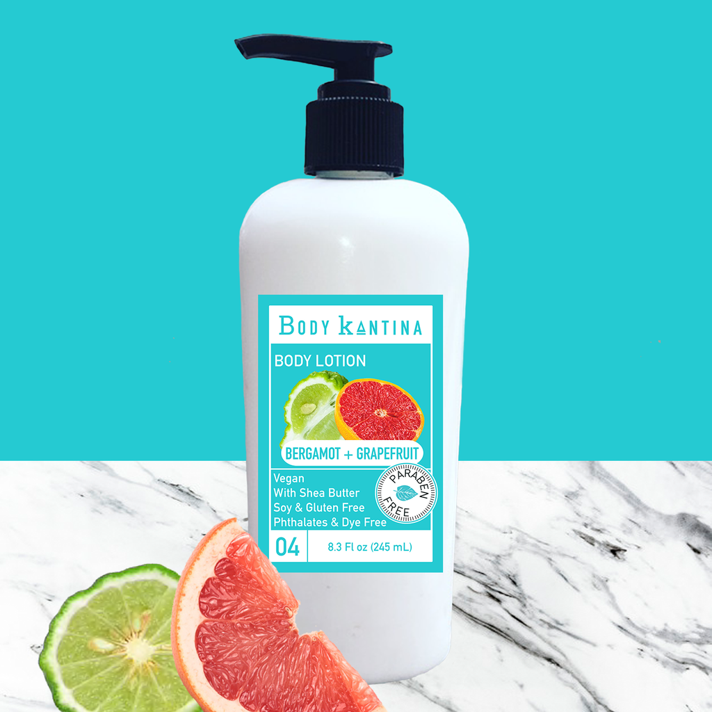 BERGAMOT + GRAPEFRUIT LOTION - Body Kantina