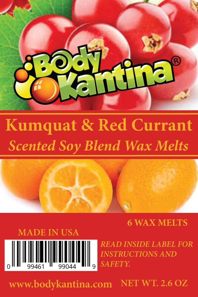 KUMQUAT & RED CURRANT WAX MELTS - Body Kantina