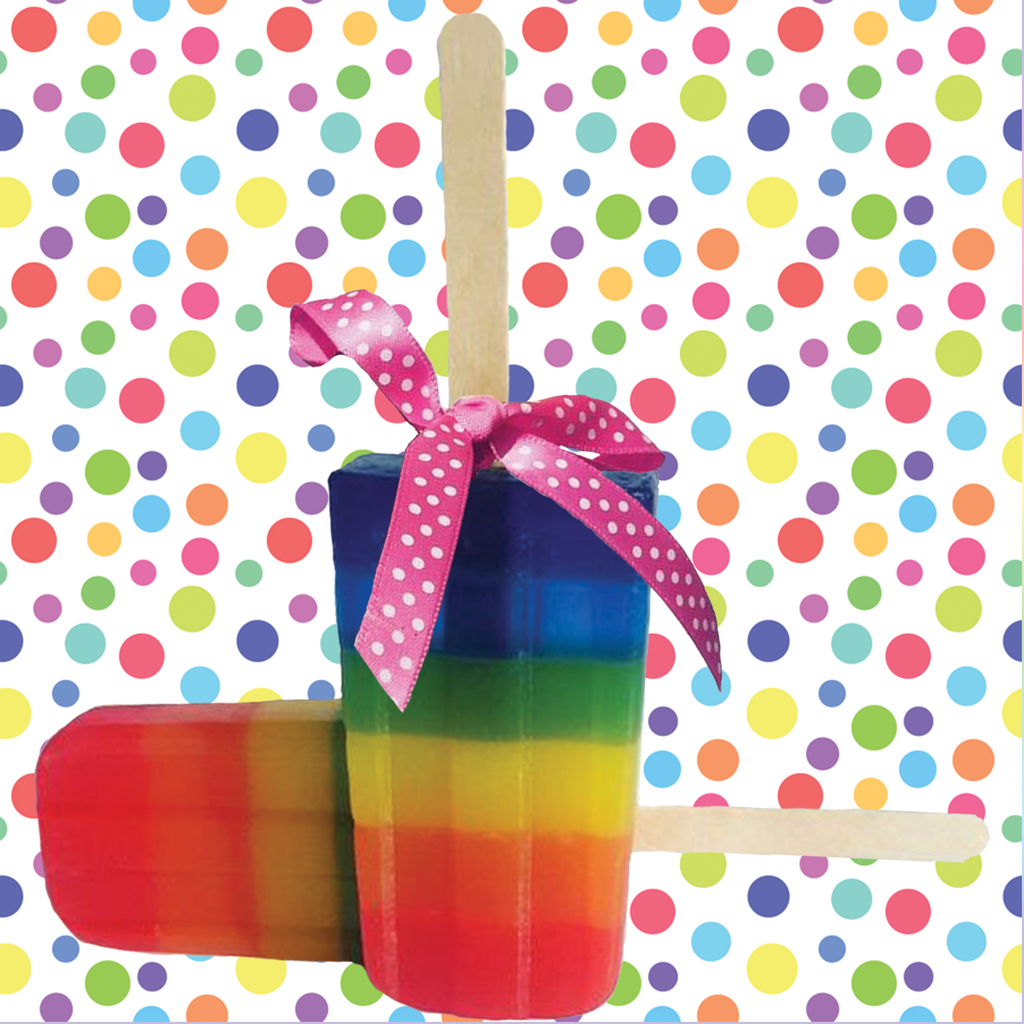 RAINBOW POPSICLE SOAP - Body Kantina