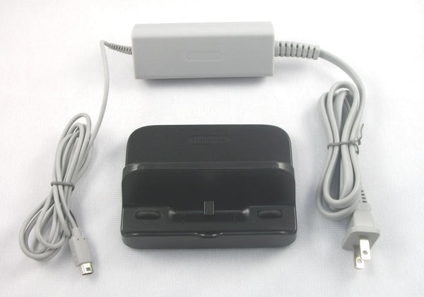 New Wii U GamePad Charge Cradle WUP-014 WITH AC Adapter Power WUP-011