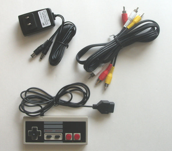 NES Original NES Hookup Kit AC Adapter Power Cord AV Cable Controller