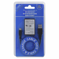 PS4 KCR1410 Dualshock 4 Internal Battery Replacement USB Charge Cable 1000MAH
