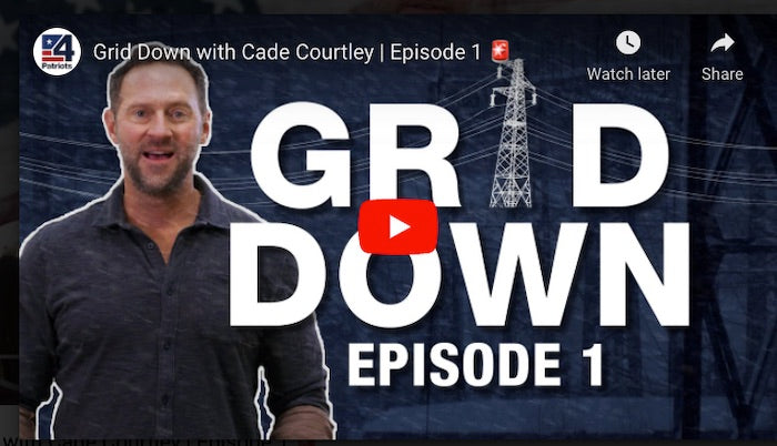 Grid Down, Episode 1 (this video could save your life)