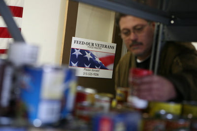 Feed Our Vets Eats Away at U.S. Veteran Hunger Problem