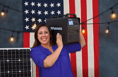 Quick Start Guide for Your Patriot Power Generator