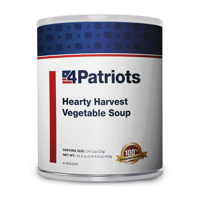 Hearty Harvest Vegetable Soup - #10 Can