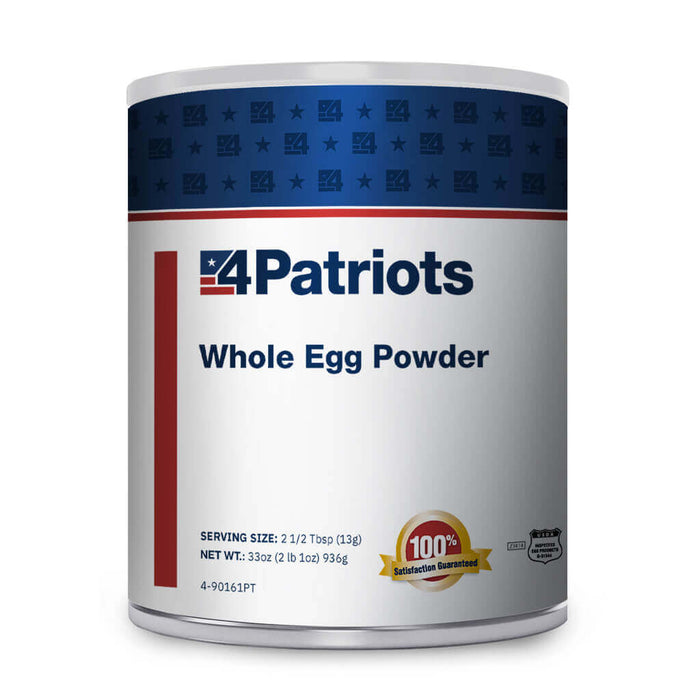 Whole Egg Powder - #10 Can (3-Pack)