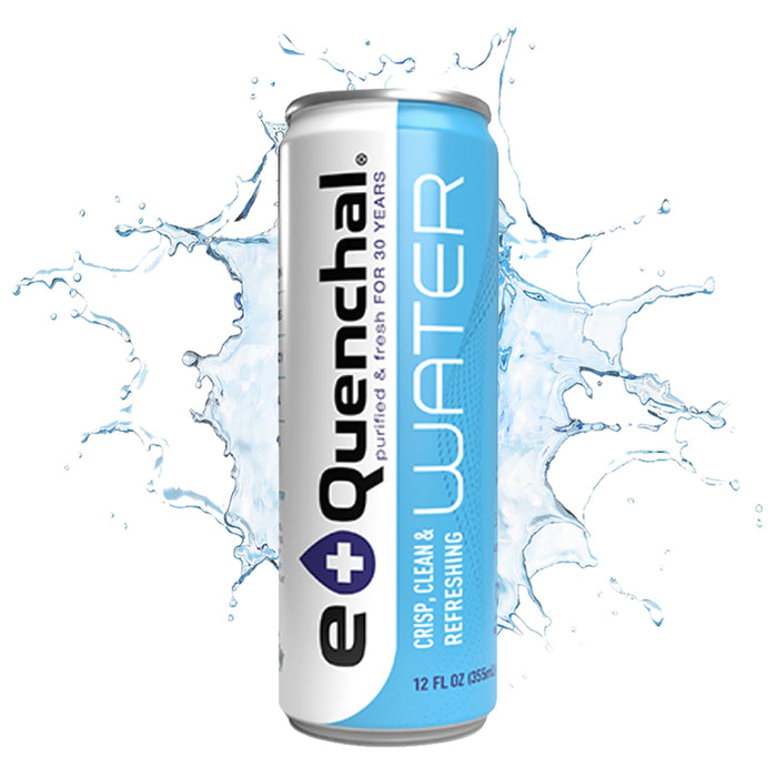 eQuenchal Canned Water (24 pk Case)