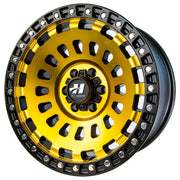 Strike Force Gold Rush 17x9 Wheel