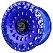 Strike Force Sapphire Blue 17x9 Wheel