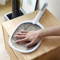 Portable USB Rechargeable Fly Mosquito Racket