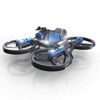 Motorcycle Folding Quadcopter Drone
