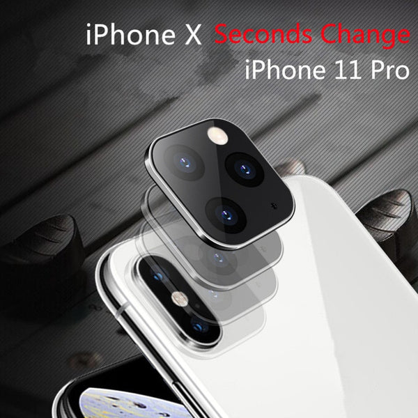 Camera Lens Seconds Change For iPhone 11