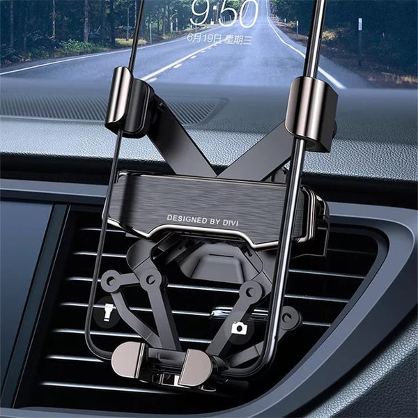 Metal Gravity Car Phone Holder DVI