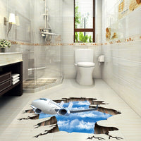 3D Wall Stickers Sky Could Bathroom wall Poster Stiker bedroom decoration Remove Waterproof decals fooor murals sticker