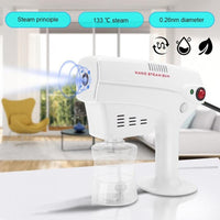 Disinfection Blue Light Nano Steam Gun Hair Spray Machine