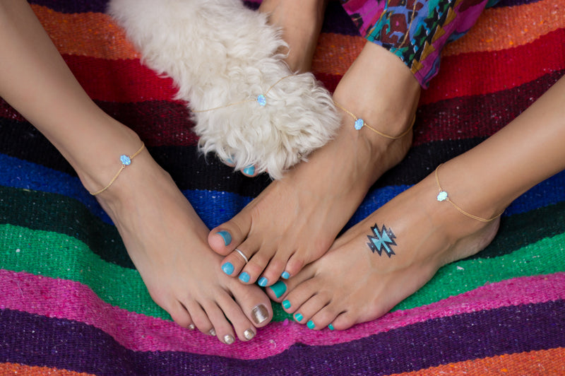The Gypsy Feet Anklet