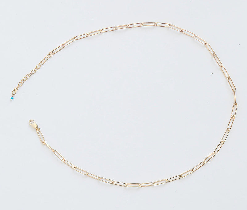 Mini Santorini Gold Necklace