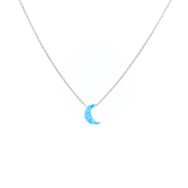 The Crescent Moon Necklace - The Neshama Project
