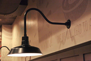 Vintage-Style Sign Light Fixtures