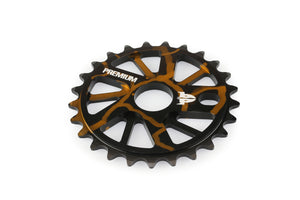Product image Premium Gnarstar Sprocket 25t Smoke Gold 3qtr