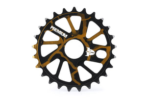 Product image Premium Gnarstar Sprocket 25t Smoke Gold
