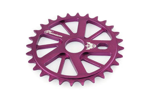 Product image Premium Gnarstar Sprocket 28t Purple 3qtr