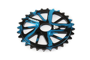 Product image Premium Gnarstar Sprocket 28t Smoke Blue 3qtr