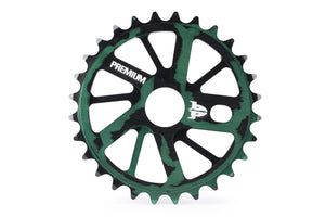 Product image Premium Gnarstar Sprocket 28t Smoke Green