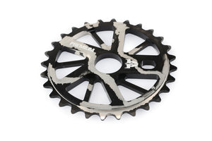 Product image Premium Gnarstar Sprocket 28t Smoke Silver 3qtr