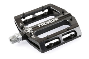 Product image Premium Slim Alloy Pedal Black 3qtr