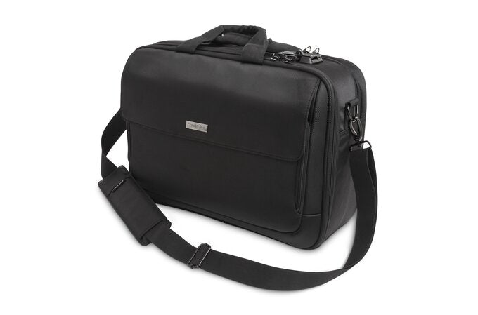 Kensington 15.6'' Laptop Bag SecureTrek, Black - wulffbeltton.no