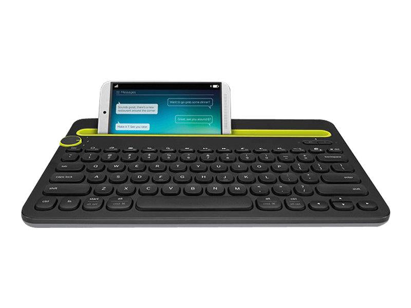 Logitech K480 Bluetooth MultiDevice Keyboard PAN Nordic Layout