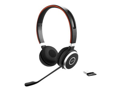 JABRA Evolve 65 Duo MS Headsett USB