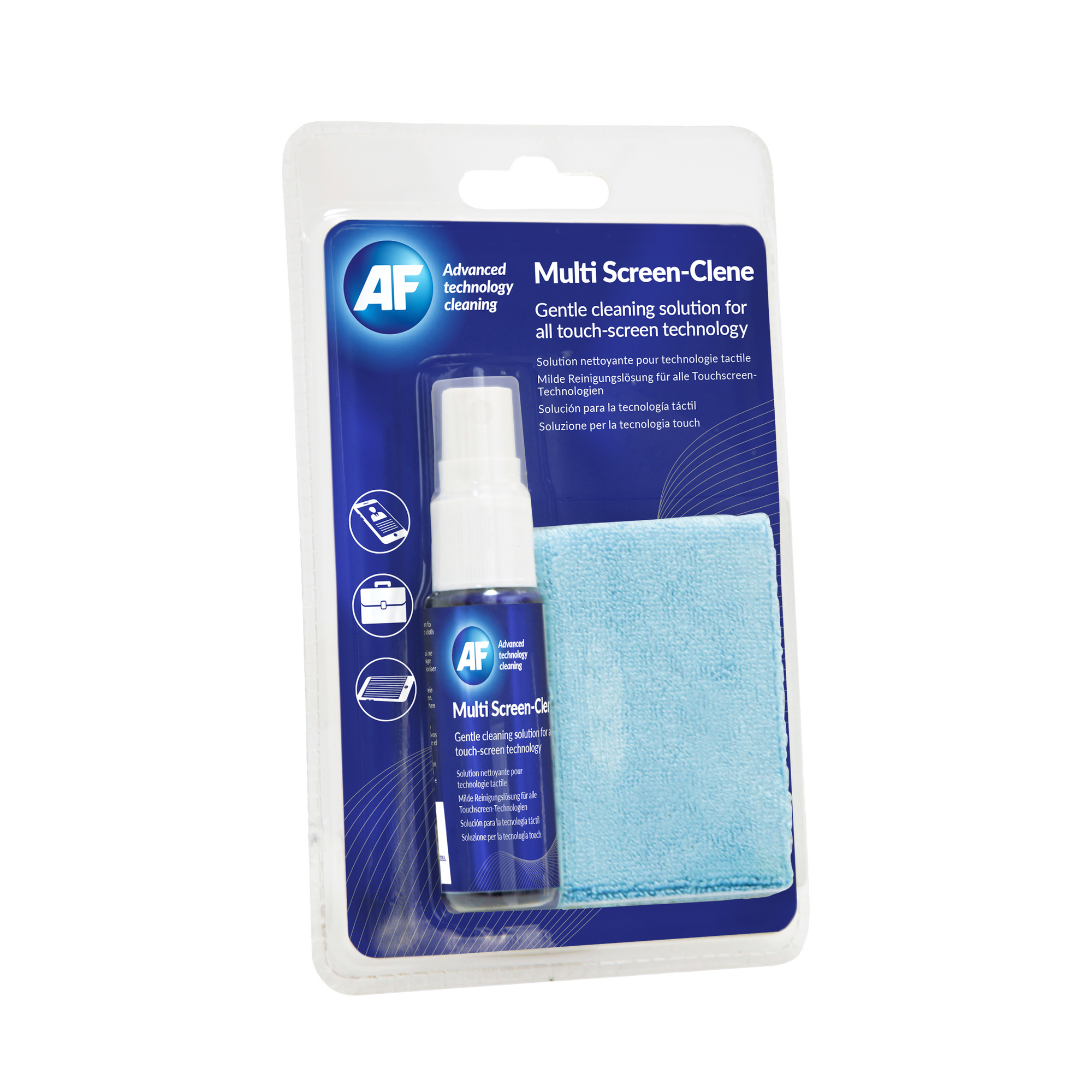 AF Multi-screen Clene Reisesett m/klut (25ml)