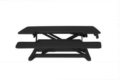 Adjustable Sit-Stand Desk Riser 2, Black