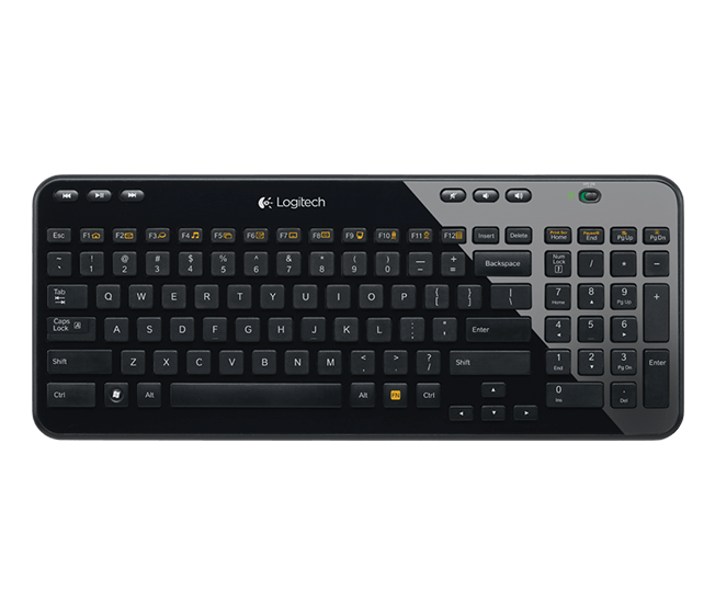 K360 Wireless Keyboard, Svart - wulffbeltton.no