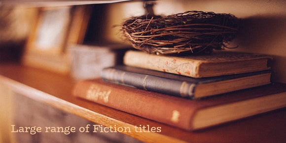 Large range of Fiction Titles