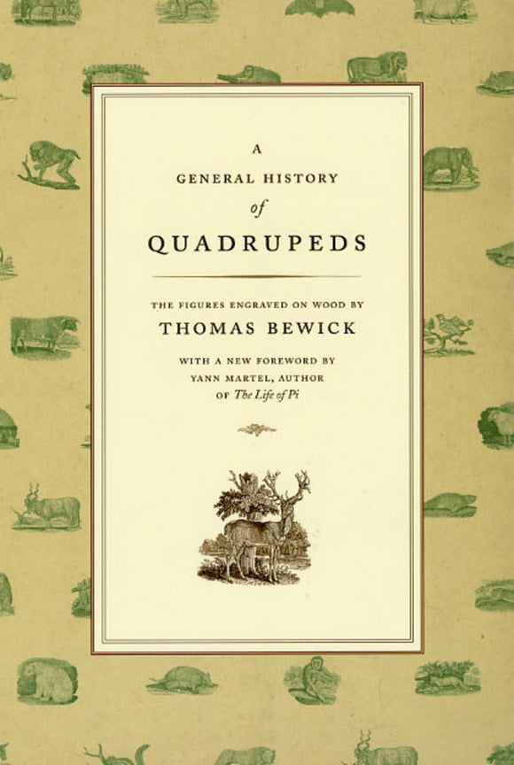 A General History of Quadrupeds