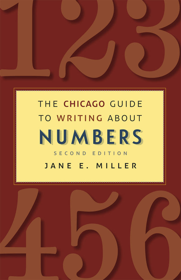 Chicago Guide to Writing about Numbers 2ed
