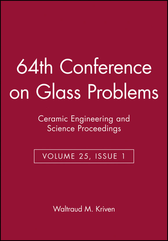 64th Conference on Glass Problems
