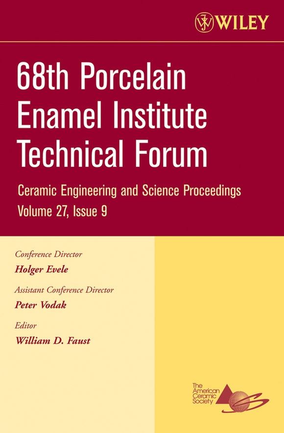 68th Porcelain Enamel Institute Technical Forum